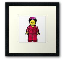 Lego Frida Framed Print