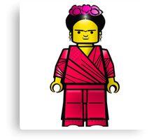 Lego Frida Canvas Print