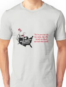 Read Across America Day design Unisex T-Shirt