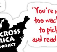 Read Across America Day design Sticker