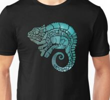 Chameleon in ethnic decorative ornamental manner Unisex T-Shirt