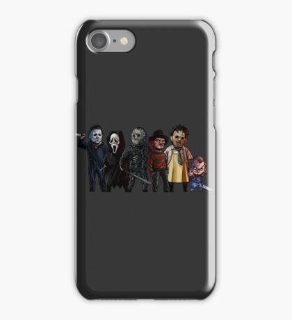 Slasher Squad iPhone Case/Skin