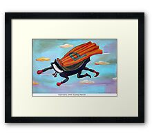 Superpiano by Diego Manuel Framed Print
