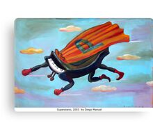 Superpiano by Diego Manuel Canvas Print