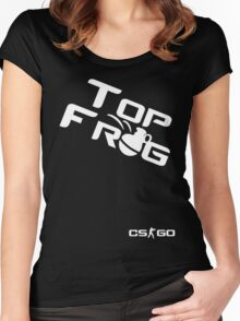 Counter Strike Top Frag Women's Fitted Scoop T-Shirt
