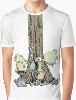 I'll Stay Basidia Graphic T-Shirt