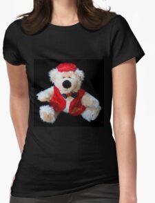 ♥ Love Bear ♥ Womens Fitted T-Shirt