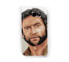 Hugh Jackman, the Man called Logan (aka The Wolverine) Samsung Galaxy Case/Skin