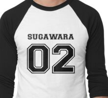 Haikyuu! Koshi Sugawara Men's Baseball ¾ T-Shirt