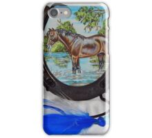 The Horse IN His Shoe iPhone Case/Skin
