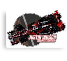 Justin Wilson (2015 Indy) Canvas Print