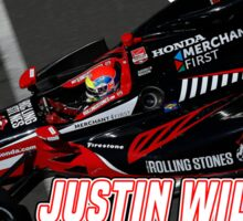Justin Wilson (2015 Indy) Sticker