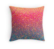 Gleaming Rainbow 1 Throw Pillow