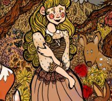 Briar Rose's Garden Sticker