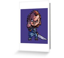 The Killer Doll Greeting Card