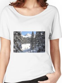 Peak Peek Women's Relaxed Fit T-Shirt