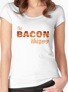 The Bacon Whisperer Women's Fitted Scoop T-Shirt