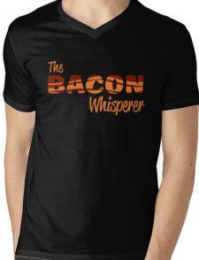 The Bacon Whisperer Mens V-Neck T-Shirt
