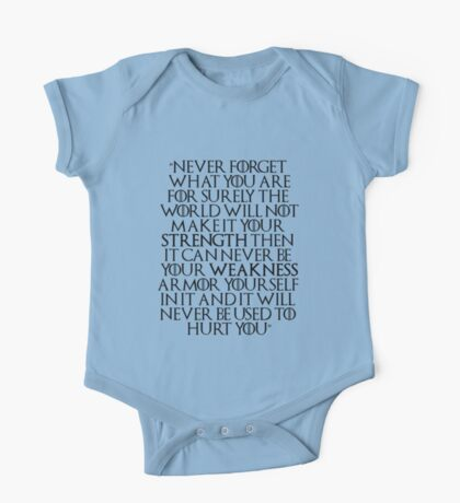 Game of Thrones - Tyrion Quote One Piece - Short Sleeve
