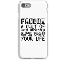 Fandom 2.0 iPhone Case/Skin