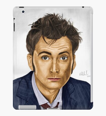 Need a Doctor? Say Ten! (Doctor Who) iPad Case/Skin