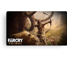 Far Cry Primal Poster Canvas Print