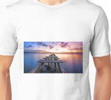 Dusk on the Bay -Cleveland Point Qld Australia Unisex T-Shirt