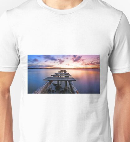 Dusk on the Bay -Cleveland Point Qld Australia Unisex T-Shirt