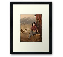 Melly May Framed Print