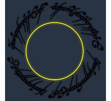 The Lord of The Rings - One Ring Photographic Print