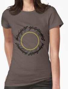 The Lord of The Rings - One Ring Womens Fitted T-Shirt