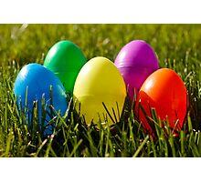 Egg Hunt Photographic Print
