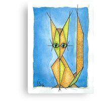 renard roux 2 Canvas Print