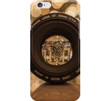 Through the lens iPhone Case/Skin