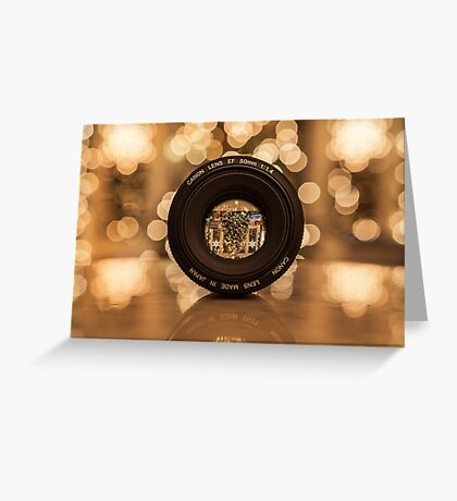 Through the lens Greeting Card