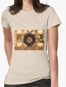 Through the lens Womens Fitted T-Shirt