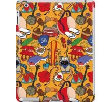 Okinawa theme illustration handmade iPad Case/Skin