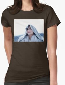 Demi #12 - Stone Cold Womens Fitted T-Shirt