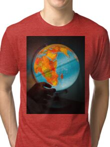 Wanderlust is incurable Tri-blend T-Shirt