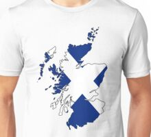 Scotland Flag Design  Unisex T-Shirt