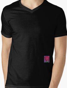 rose Mens V-Neck T-Shirt