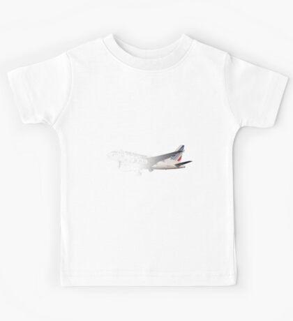 Airbus A318 drawing mode Kids Tee
