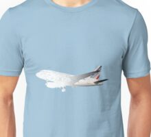 Airbus A318 drawing mode Unisex T-Shirt