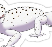 Black Hole Leopard Gecko Sticker