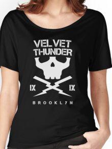 Velvet Thunder Club Women's Relaxed Fit T-Shirt