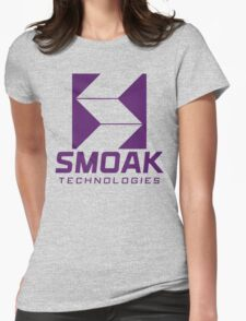 Smoak Technologies - Star City 2046 Womens Fitted T-Shirt