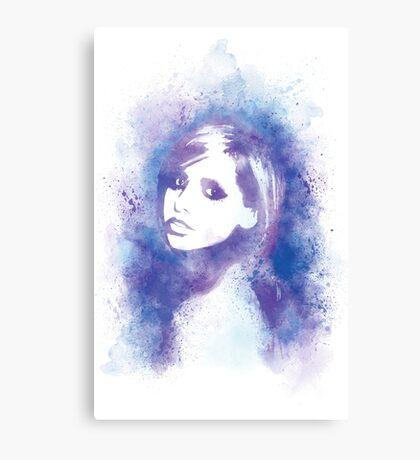 SMG Watercolor Portrait Canvas Print