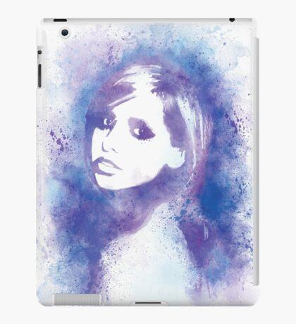 SMG Watercolor Portrait iPad Case/Skin
