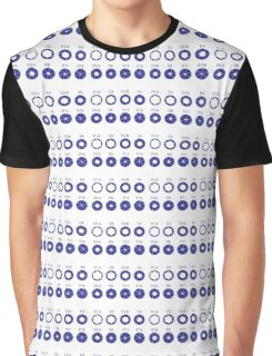 F-Stops - Blue Graphic T-Shirt