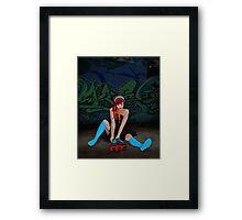 Derby Girl Framed Print